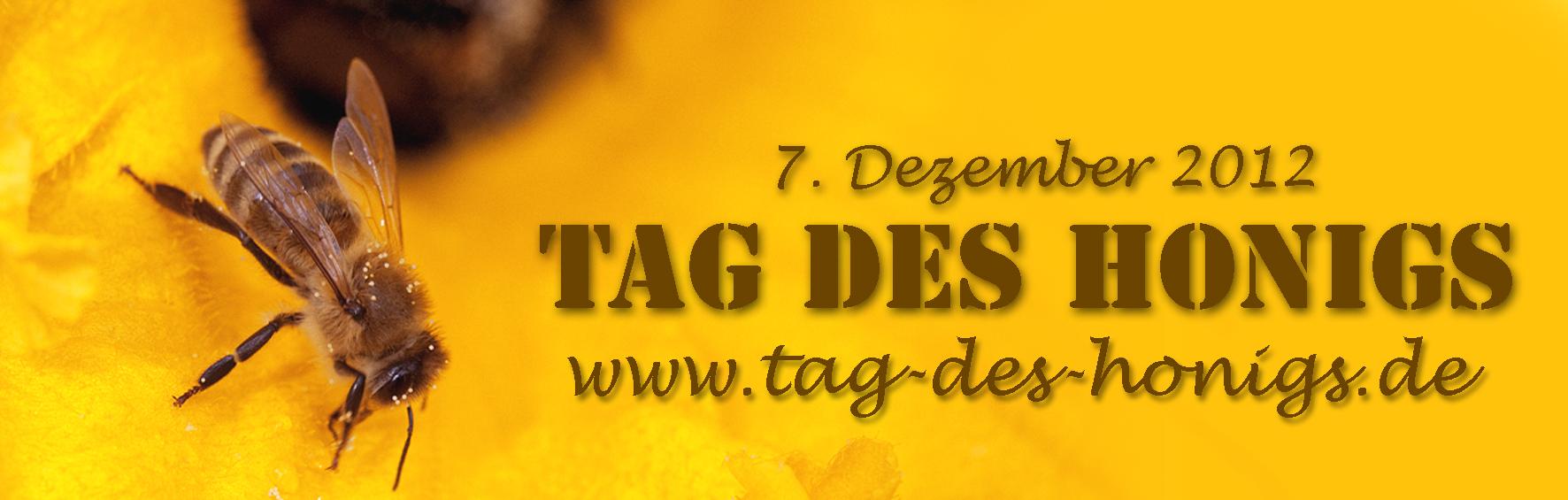 21. Internationaler Tag des Honigs am 7. Dezember 2012