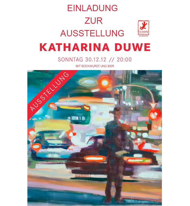 Das Modenhaus Ehlers präsentiert: Vernissage von Katharina Duwe