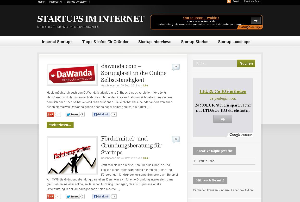 Lotse durch den Dschungel der Internet-Startups