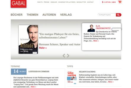 opus 5 verleiht dem GABAL Verlag ein neues digitales Gesicht