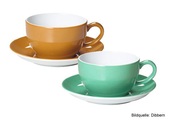 Dibbern Solid Color: Bernstein und Smaragd sind die neuen Farben 2013