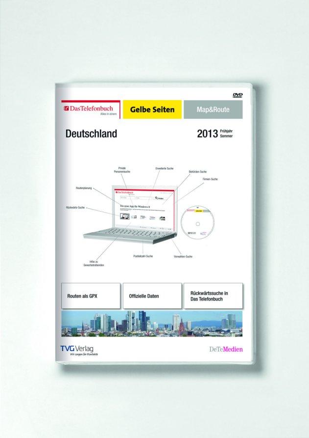 Märchenhafte Touren mit Das Telefonbuch Gelbe Seiten Map&Route Frühjahr/Sommer 2013