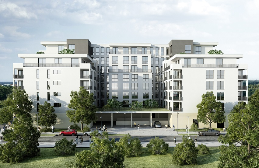 """Grundsteinlegung für """"Skyline Boulevard Two"""" – Amadeus Group startet mit zweitem Bauvorhaben im Frankfurter Europaviertel"""