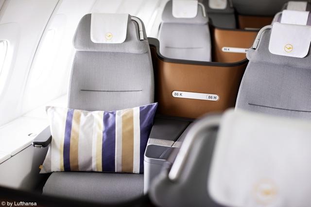 Eine Klasse für sich – rohi stattet die neue Lufthansa Business Class aus