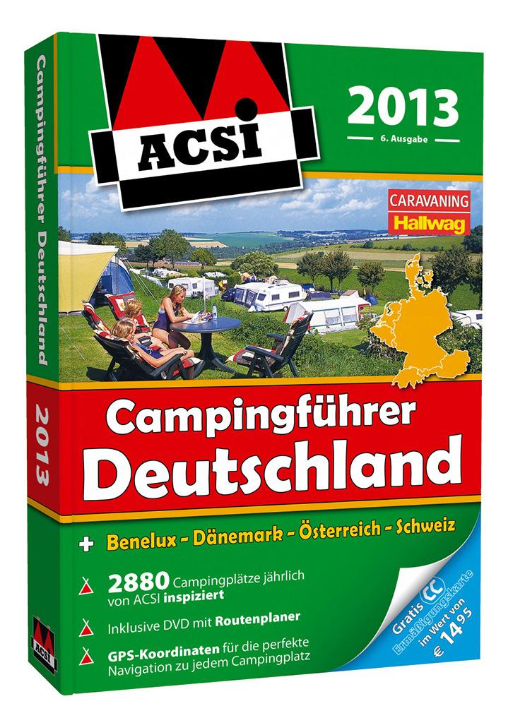Niederländische Qualität von Campingführern gewinnt an Popularität