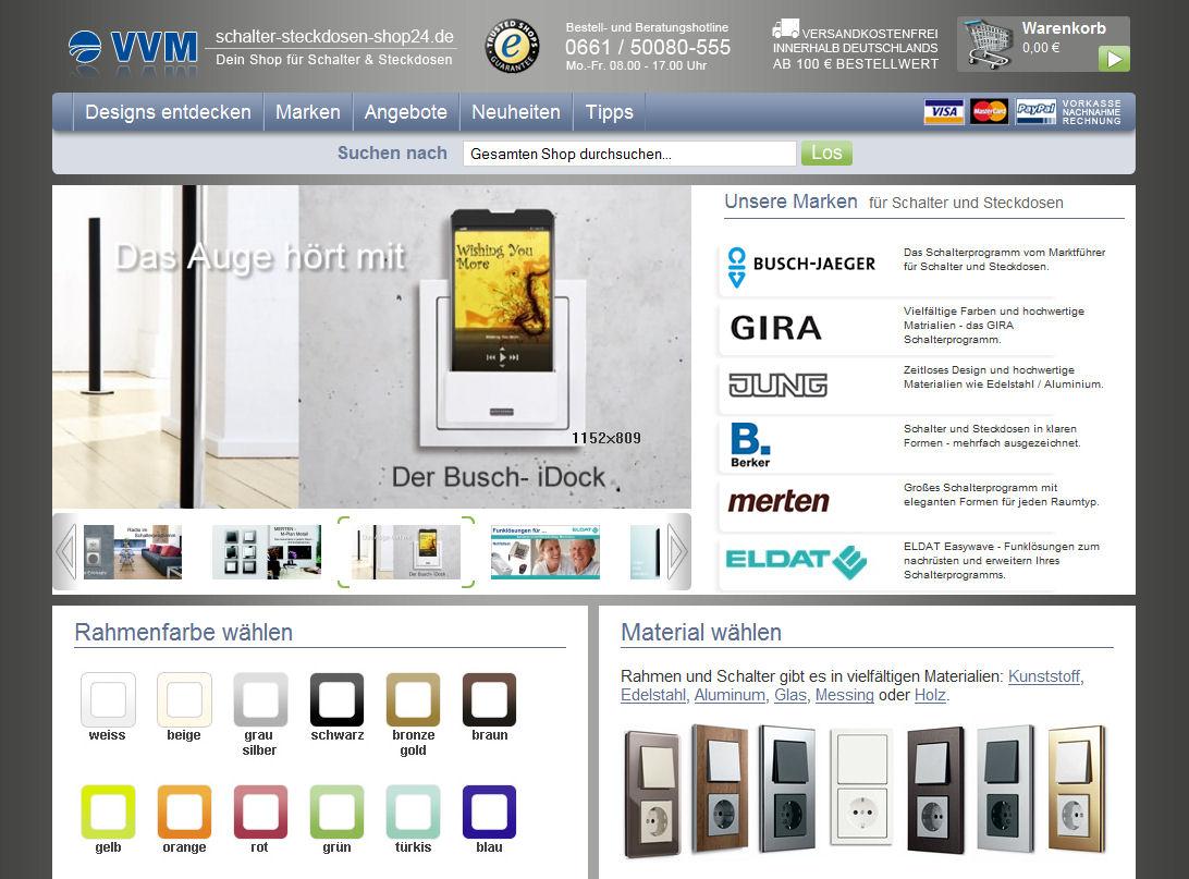 Aus Glas, Metall, Holz oder Kunststoff: Schalter und Steckdosen für jeden Raum, für jeden Look