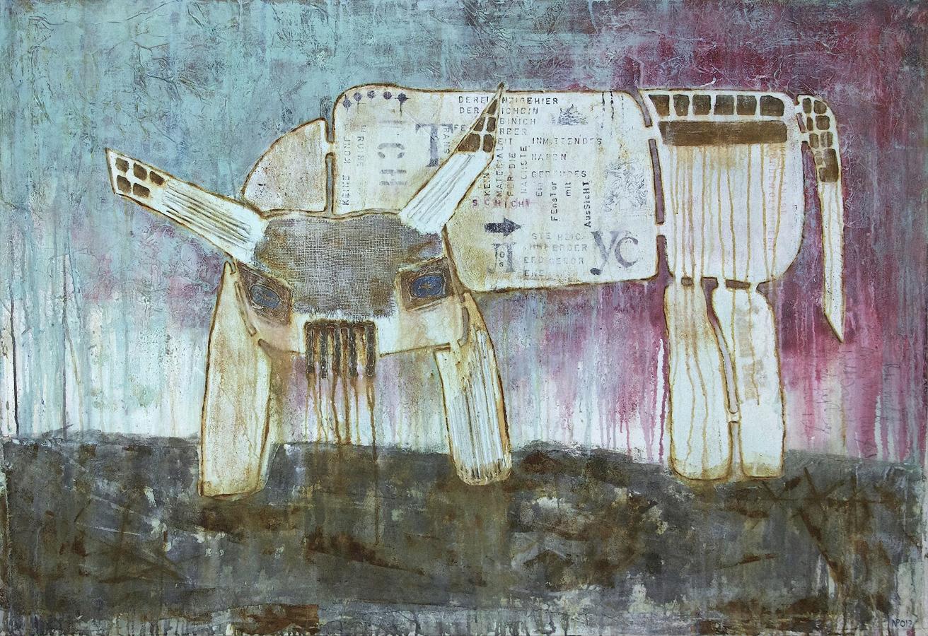 Nils Peters – Die Rückkehr monumentalen Staunens auf der Kunstmesse B.AGL ART afFAIRs in Berlin