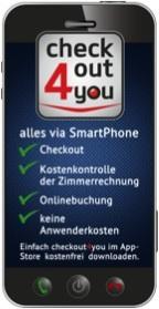 checkout4you - Weltpremiere - checkout via Smartphone
