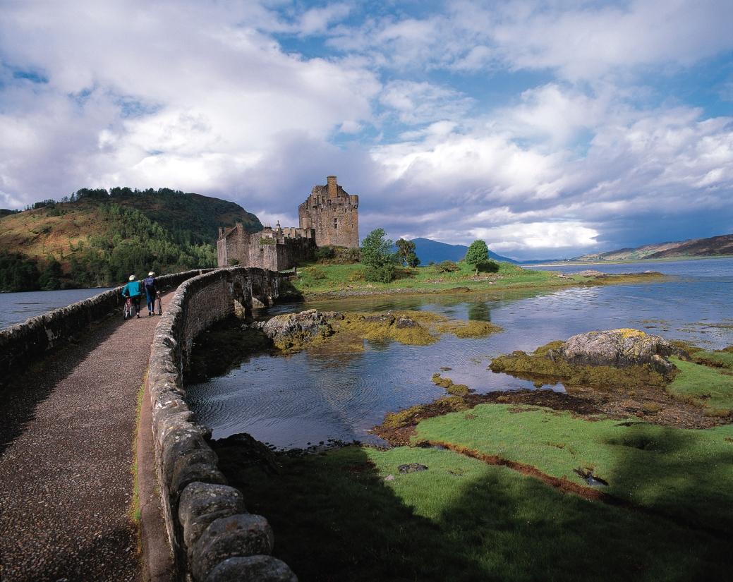 Radrundreise durchs schottische Hochland: Weite Highlands und herbe Schönheit
