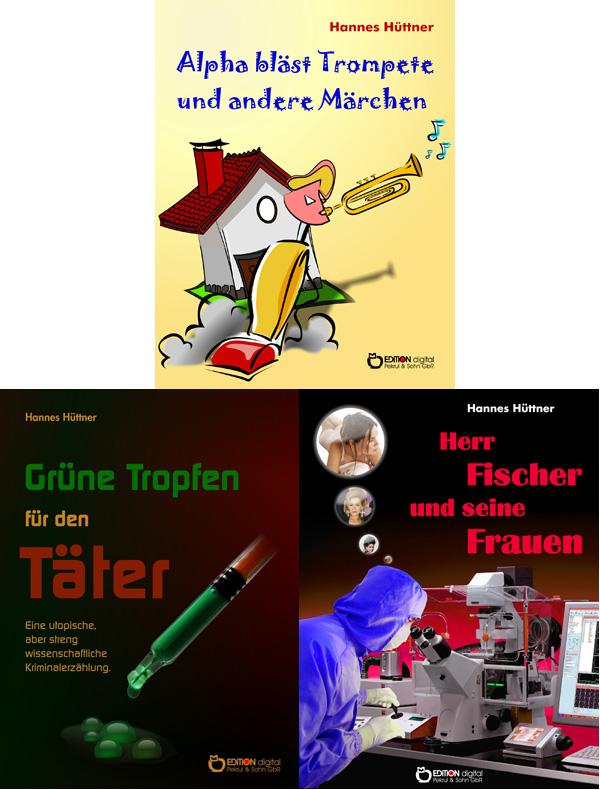 Wenn der Staubsauger Trompete bläst - Sechs Bücher von Hannes Hüttner als E-Book