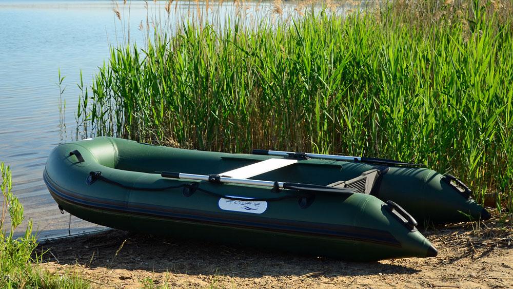 Angel-Sportler rüsten mit Schlauchbooten auf