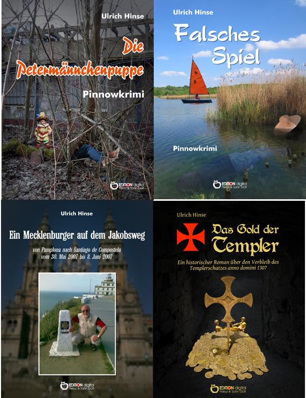 Mord in Mueß und anderswo - EDITION digital legt zwei neue Krimis von Ulrich Hinse vor