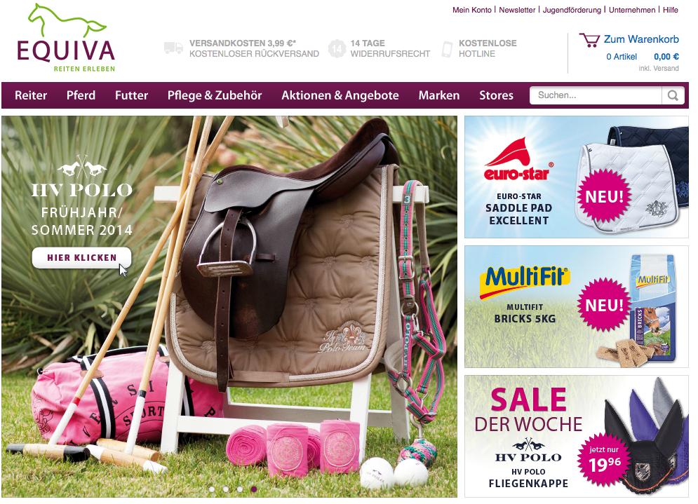 Die neuesten Reitsport-Trends auf einen Klick – Der EQUIVA Online-Shop