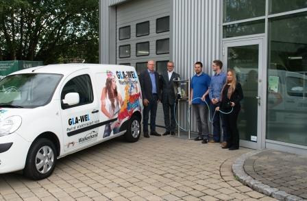 Walkenhorst elektrisiert Gla-Wel Renault Kangoo Z.E. bringt E-Mobilität nach Melle