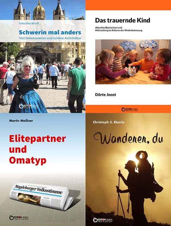 Wenn Kinder trauern und andere Neuerscheinungen - Diese Woche sehr verschiedene Bücher bei EDITION digital