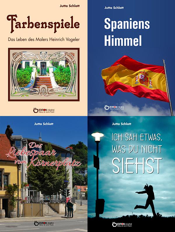 Liebe und andere Geschichten aus dem Alltag - EDITION digital gratuliert Schweriner Autorin Jutta Schlott