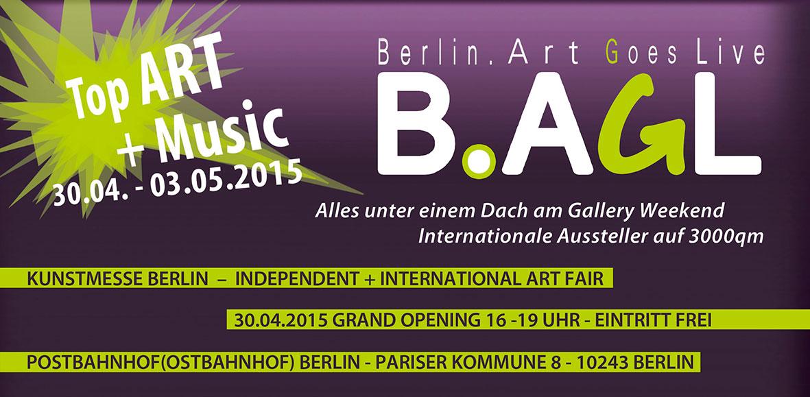 Kunst, Konzerte, Kommunikation und Kreativität parallel zum Gallery Weekend im Postbahnhof Berlin