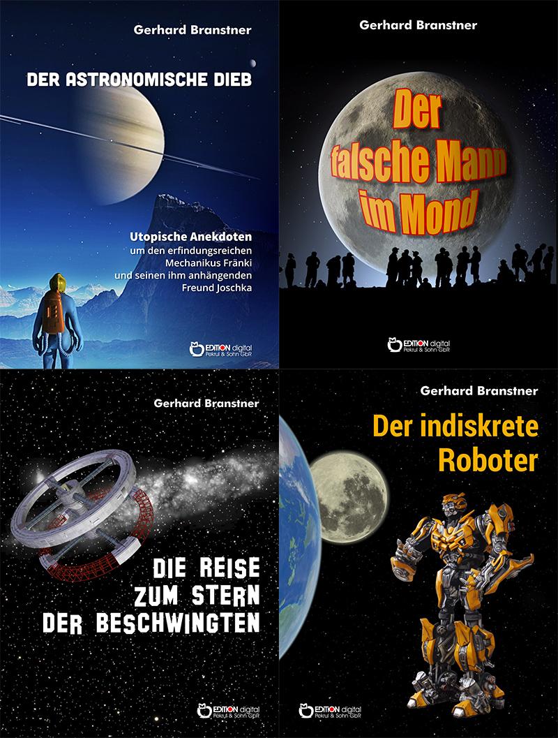 Der Tote im Eis - Acht E-Books von Freitag bis Freitag zum Sonderpreis - Fünf SF-Neuerscheinungen von Gerhard Branstner diese Woche bei EDITION digital