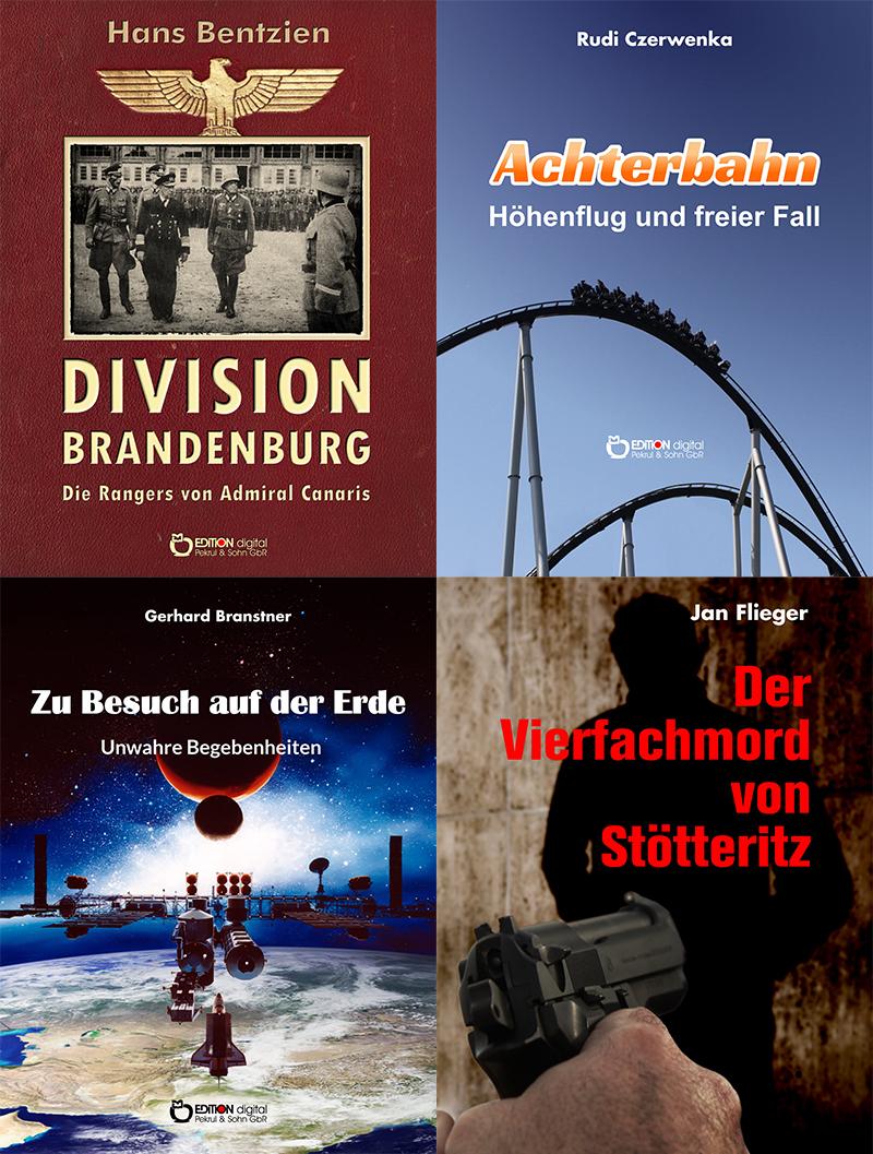 Morde in Leipzig, Herr Nepomuk, Dialektik und Vergnügen sowie Achterbahn und freier Fall – Fünf E-Books von Freitag bis Freitag zum Sonderpreis