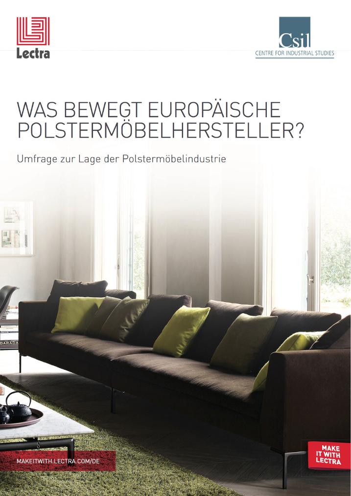 Lectra-Studie: Europäische Polstermöbelhersteller sehen innovative Technologien als Erfolgsfaktor