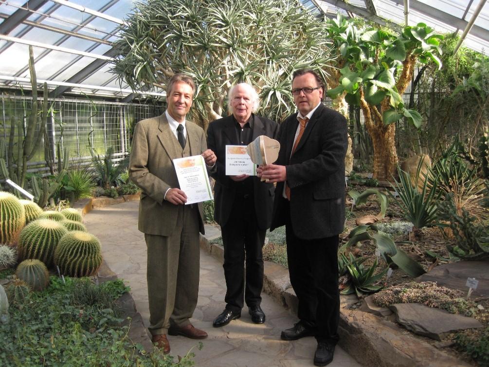 Haus für Kommunikation erhält Auszeichnung  als Projekt der UN-Dekade Biologische Vielfalt