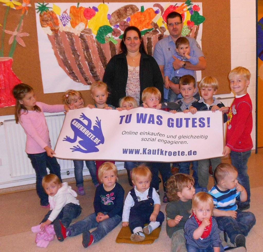 Große Freude bei unseren ersten Spendenempfängern