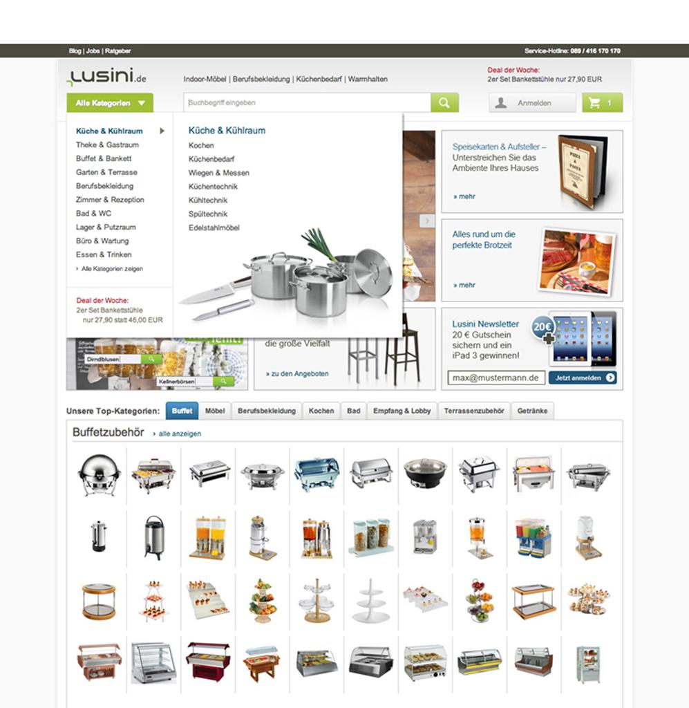 Lusini.de hat umgebaut! Neue Website noch benutzerfreundlicher