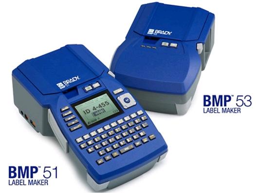 Etikettendrucker BMP51/53 für Labor, Industrie, Elektronik und Datenkommunikation