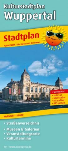 Neuer Stadtplan Wuppertal